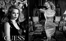 Guess fashion campaign